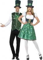 Deguisement Couple Leprechaun St Patrick
