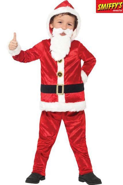 Deguisement Enfant Noel Père Noël Sonore Ventre Rembourrée Enfant   Déguisement enfant