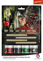 Deguisement Kit De Zombie Latex Liquide Maquillage Halloween
