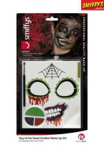 Deguisement Kit Maquillage Zombie Jours Des Morts Maquillage Halloween