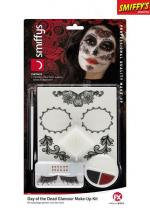 Deguisement Kit Maquillage Glamour Jour Des Morts Maquillage Halloween