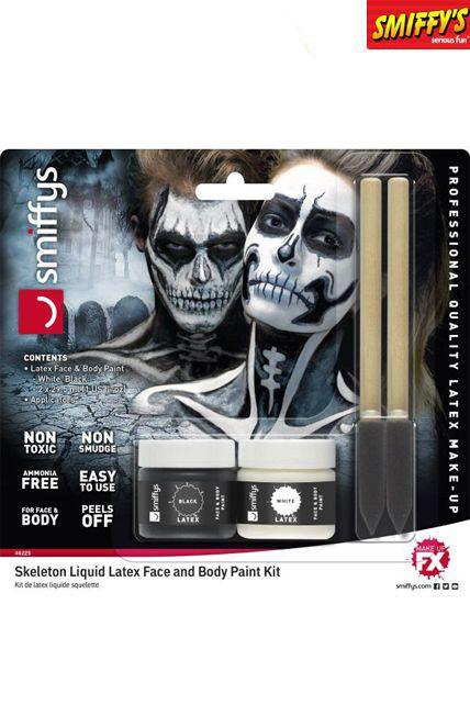 Deguisement Fantome Squelette Costume Halloween Prothese Effets Speciaux