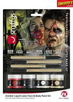 Deguisement Kit Maquillage Latex Liquide Zombie Maquillage Halloween