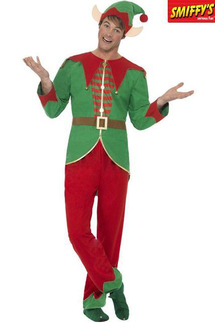 Déguisement D\u0027Elf Vert costume