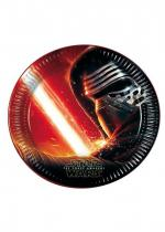 Deguisement Lot 8 Assiettes 23Cm Star Wars 7
