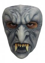 Deguisement Masque Latex Adulte Vampire Gris Masque Halloween