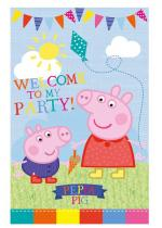 Deguisement Poster Couvre Porte Peppa Pig