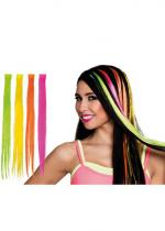 Deguisement Extension De Cheveux Fluo Flashy