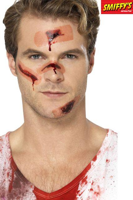 Tatouages Temporaires Cicatrice De Zombie Maquillage Tatouage Et