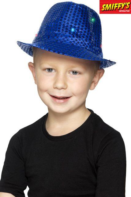 nouveaux produits pour bien pas cher découvrir les dernières tendances Borsalino À Sequins Lumineux Bleu