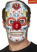 Deguisement Masque Clown Jour Des Morts Vivants Masque Halloween