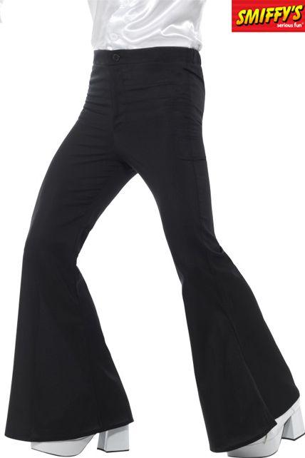 Pantalon à Pattes D éléphant Homme Noir Déguisement Adulte Jupe Et Pantalon Le Deguisement Com
