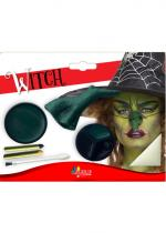 Deguisement Kit Maquillage Sorcière Maquillage Halloween