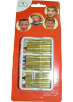 Deguisement Lot 12 Crayons Maquillage
