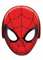 Deguisement Lot De 8 Masques En Carton Adulte Spiderman Masques Adultes