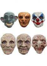 Deguisement Lot De 12 Masques Halloween Masque Halloween