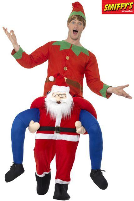 7ea3004eba212 Déguisement Porte Moi Père Noël - Déguisement adulte Noël Le ...