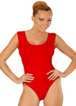 Deguisement Body Adulte Sans Manches Rouge Vêtements Divers