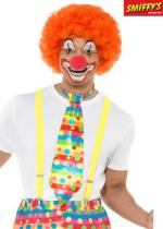 Deguisement Cravate De Clown Multicolore Cravate et Noeud Papillon