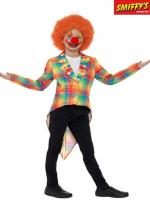 Deguisement Veste Enfant Clown Queue De Pie Flashy