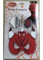 Deguisement Kit Maquillage Enfant Halloween Démon Maquillage Halloween