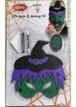 Deguisement Kit Maquillage Enfant Halloween Sorcière Maquillage Halloween