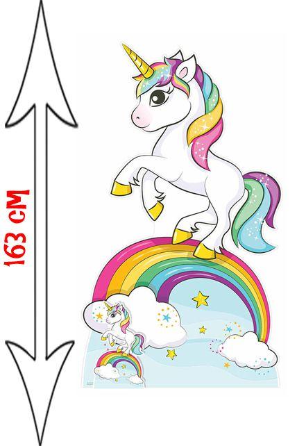 Figurine g ante licorne arc en ciel d corations les - Image arc en ciel gratuite ...