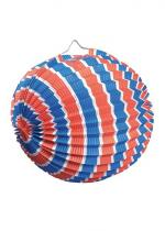 Deguisement Lampion Ballon 25 Cm Tricolore
