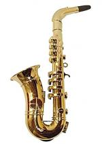 Deguisement Saxo 8 Notes Couleur Or