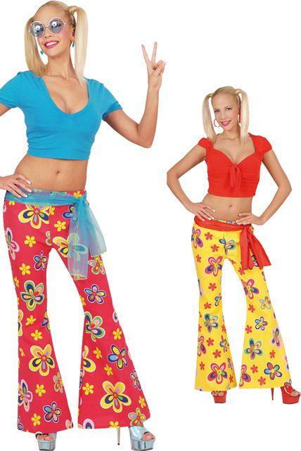 pantalon fleurs deguisement adulte jupe et pantalon le. Black Bedroom Furniture Sets. Home Design Ideas