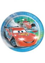 Deguisement 8 Assiettes Cars Ice