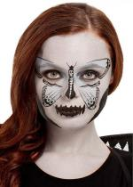 Deguisement Kit De Maquillage À L'Eau Papillon De Nuit Gris Maquillage Halloween