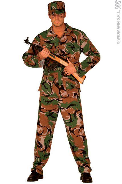 deguisement de militaire deguisement adulte homme tailles xl le. Black Bedroom Furniture Sets. Home Design Ideas