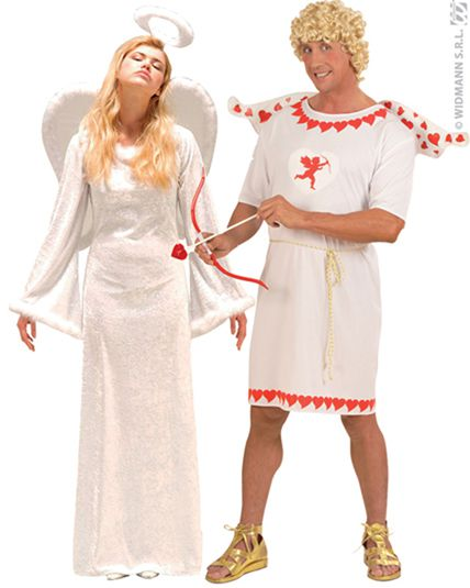 Cupidon et ange deguisement adulte en couple le - Image de cupidon gratuite ...
