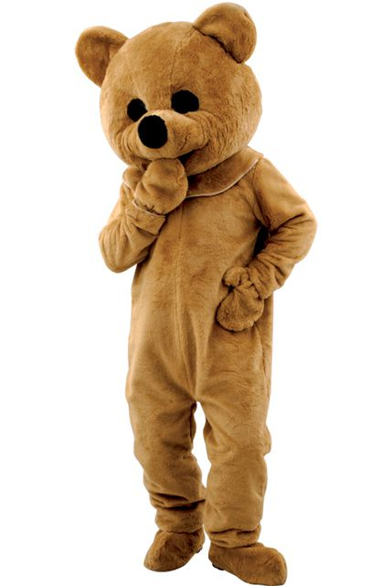 Mascotte peluche ours deguisement adulte mascottes - Gros nounourse ...