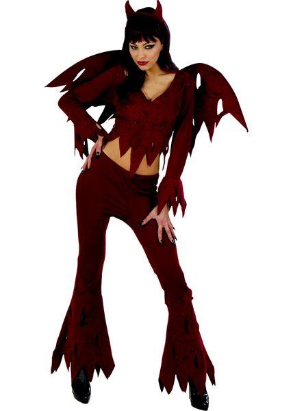 costume femme d mon deguisement adulte femme sp cial halloween le. Black Bedroom Furniture Sets. Home Design Ideas