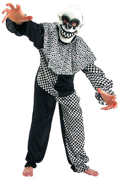 costume clown mal fique deguisement adulte homme sp cial halloween le. Black Bedroom Furniture Sets. Home Design Ideas