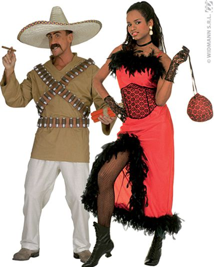 Couple western deguisement adulte en couple le - Deguisement western femme ...