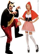Deguisement Couple Chaperon Rouge En Couple
