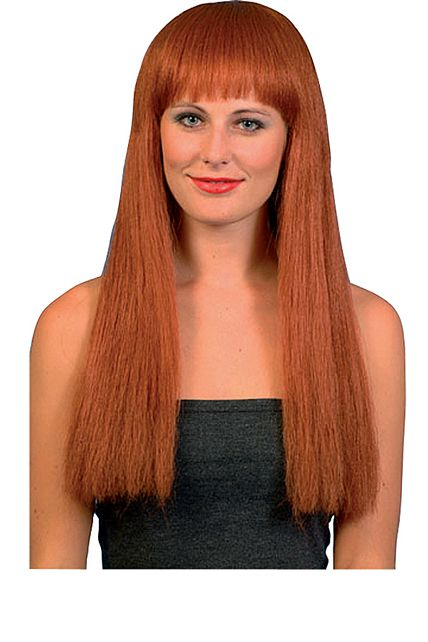 Perruque Style Cher Rousse - Perruques Femmes