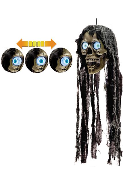 T te yeux rotatifs d corations halloween le for Decoration yeux