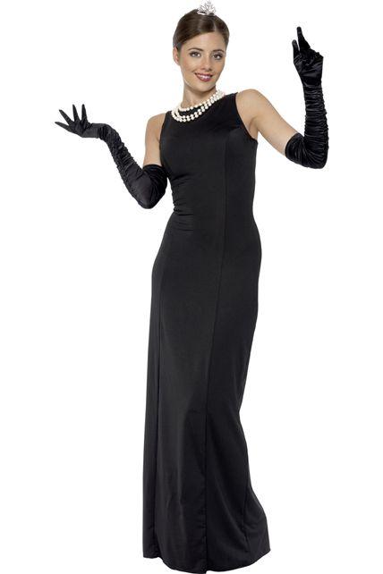 Costume soir e dame deguisement adulte femme le - Deguisement audrey hepburn ...