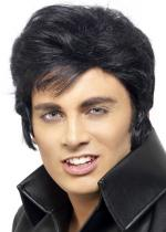 Deguisement Perruque Elvis The King