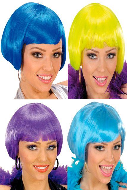 Perruque Femme Couleur - Perruques Courtes