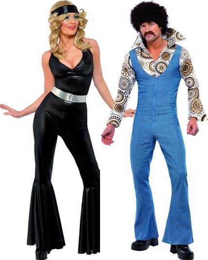 Couple ann e 70 39 s deguisement adulte en couple le - Deguisement femme annee 70 ...