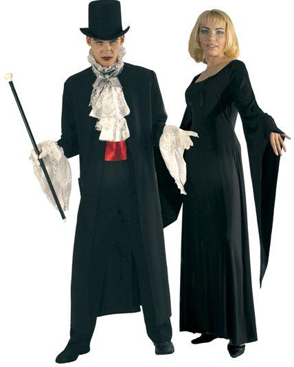 couple vampire dracula deguisement adulte en couple le. Black Bedroom Furniture Sets. Home Design Ideas