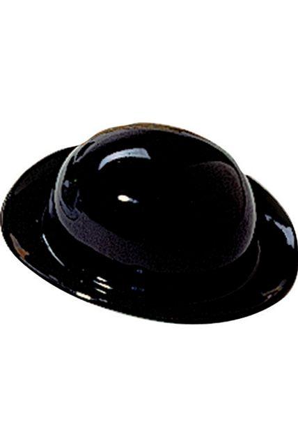 chapeau melon noir plastique chapeau melon haut de forme le. Black Bedroom Furniture Sets. Home Design Ideas