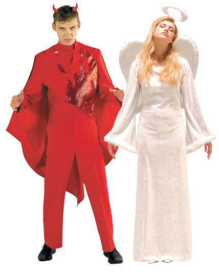 duo enfer et paradis deguisement adulte en couple le. Black Bedroom Furniture Sets. Home Design Ideas