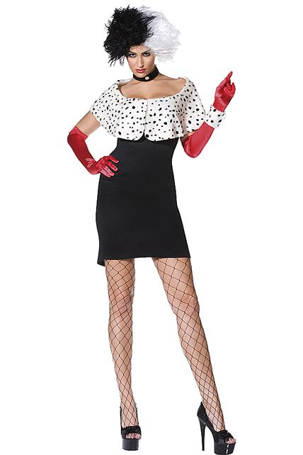 Deguisement cruella sexy deguisement adulte sexy sp cial halloween le - Theme de deguisement ...