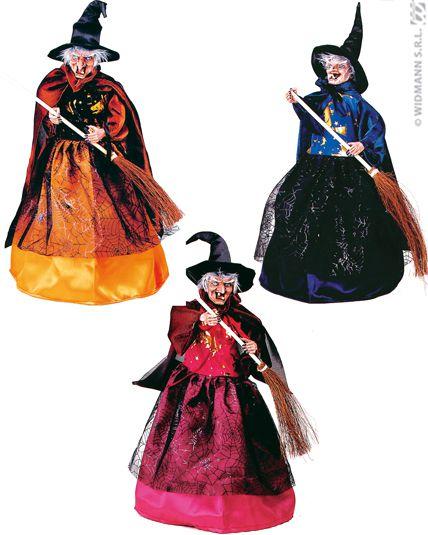 Decoration Sorciere Halloween.Déco Sorcière Animée Décorations Halloween Le Deguisement Com